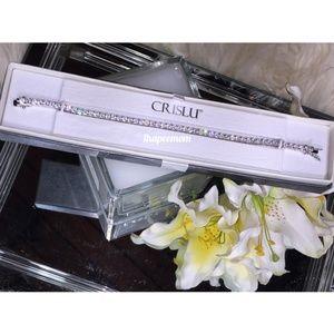 Tennis Bracelet 5.20 CTTW CZ Set in Platinum